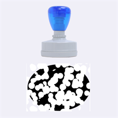 Modern Bokeh 9 Rubber Oval Stamps