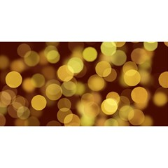 Modern Bokeh 9 YOU ARE INVITED 3D Greeting Card (8x4)