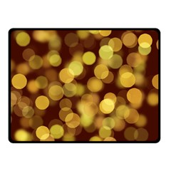 Modern Bokeh 9 Double Sided Fleece Blanket (Small)