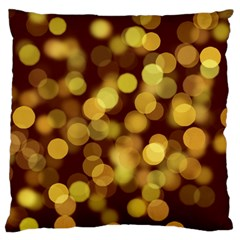 Modern Bokeh 9 Large Flano Cushion Cases (two Sides)