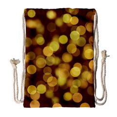 Modern Bokeh 9 Drawstring Bag (Large)