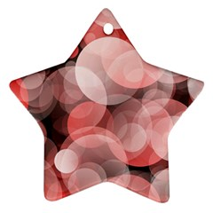Modern Bokeh 10 Ornament (star)