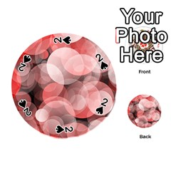 Modern Bokeh 10 Playing Cards 54 (Round)