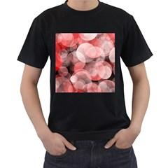 Modern Bokeh 10 Men s T Shirt (black)