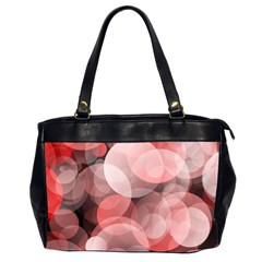 Modern Bokeh 10 Office Handbags (2 Sides)