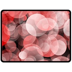 Modern Bokeh 10 Fleece Blanket (Large)