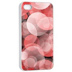 Modern Bokeh 10 Apple iPhone 4/4s Seamless Case (White)
