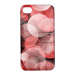Modern Bokeh 10 Apple Iphone 4/4s Hardshell Case With Stand