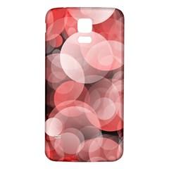 Modern Bokeh 10 Samsung Galaxy S5 Back Case (white)