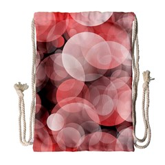 Modern Bokeh 10 Drawstring Bag (Large)