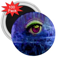 Waterfall Tears 3  Magnets (100 Pack)