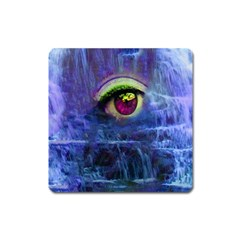 Waterfall Tears Square Magnet