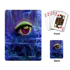 Waterfall Tears Playing Card