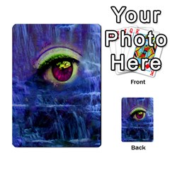 Waterfall Tears Multi Purpose Cards (rectangle)