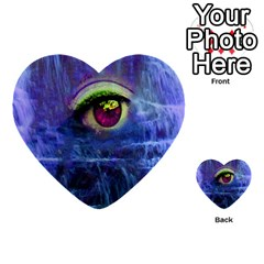 Waterfall Tears Multi-purpose Cards (Heart)