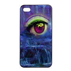 Waterfall Tears Apple iPhone 4/4s Seamless Case (Black)