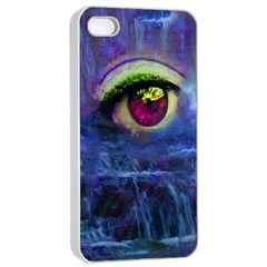 Waterfall Tears Apple iPhone 4/4s Seamless Case (White)