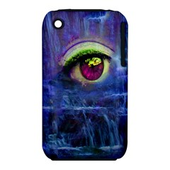 Waterfall Tears Apple Iphone 3g/3gs Hardshell Case (pc+silicone)