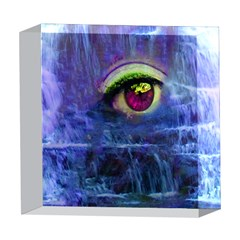 Waterfall Tears 5  x 5  Acrylic Photo Blocks