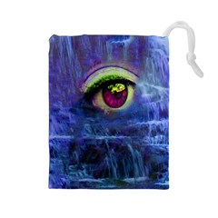 Waterfall Tears Drawstring Pouches (large)