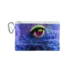 Waterfall Tears Canvas Cosmetic Bag (S)