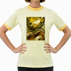 Surreal Women s Fitted Ringer T-Shirts