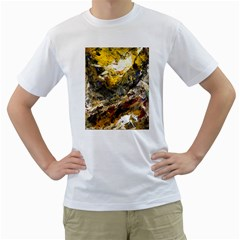 Surreal Men s T Shirt (white) (two Sided)