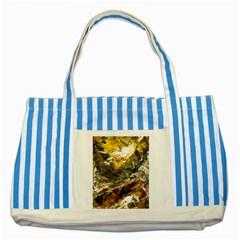 Surreal Striped Blue Tote Bag