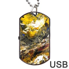 Surreal Dog Tag USB Flash (Two Sides)