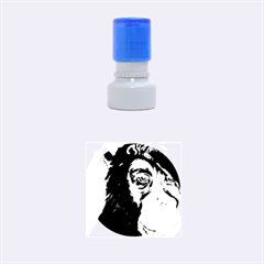 Humans Rubber Round Stamps (Small)