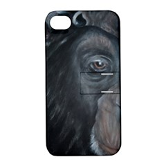 Humans Apple Iphone 4/4s Hardshell Case With Stand