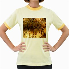 Sago Palm Women s Fitted Ringer T Shirts