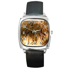 Sago Palm Square Metal Watches