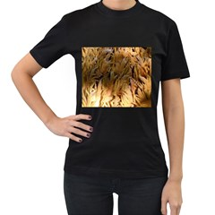 Sago Palm Women s T Shirt (black) (two Sided)