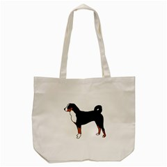 Appenzeller Sennenhund Silo Color Tote Bag (Cream)