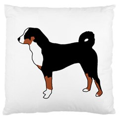 Appenzeller Sennenhund Silo Color Large Flano Cushion Cases (two Sides)