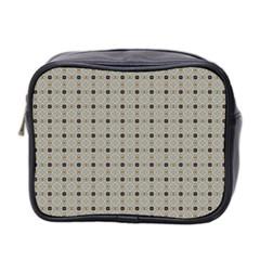 Cute Pretty Elegant Pattern Mini Toiletries Bag 2 Side