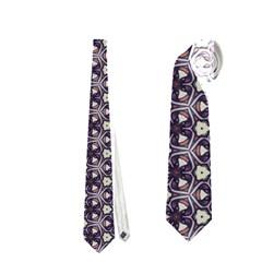 Cute Pretty Elegant Pattern Neckties (two Side)
