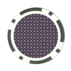 Cute Pretty Elegant Pattern Poker Chip Card Guards (10 Pack)