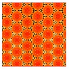 Cute Pretty Elegant Pattern Large Satin Scarf (Square)