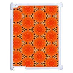 Cute Pretty Elegant Pattern Apple Ipad 2 Case (white)