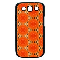 Cute Pretty Elegant Pattern Samsung Galaxy S III Case (Black)