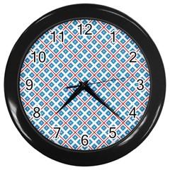 Cute Pretty Elegant Pattern Wall Clocks (black)