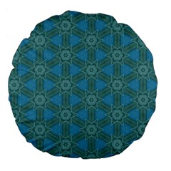 Cute Pretty Elegant Pattern Large 18  Premium Flano Round Cushions