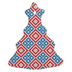 Cute Pretty Elegant Pattern Ornament (christmas Tree)