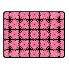 Cute Pretty Elegant Pattern Fleece Blanket (small)