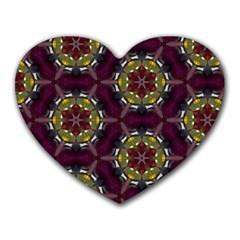 Cute Pretty Elegant Pattern Heart Mousepads