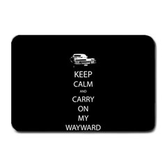 Keep Calm and Carry On My Wayward Son Plate Mats