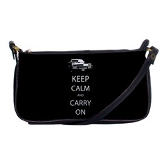 Keep Calm And Carry On My Wayward Son Shoulder Clutch Bags