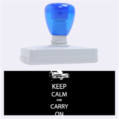 Keep Calm And Carry On My Wayward Son Rubber Address Stamps (xl)
